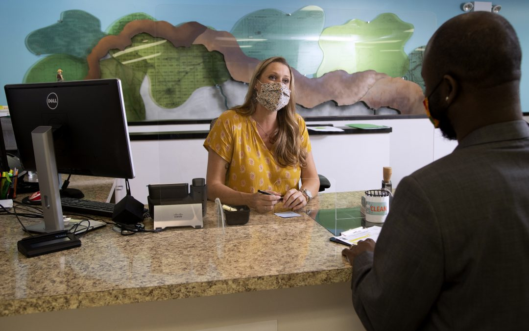 Visitors now required to wear a mask and book an appointment